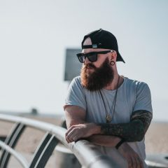 hipster with tattoos